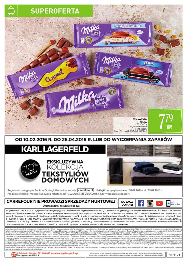 Gazetka sieci Carrefour, ważna od 2016-03-15 do 2016-03-20, strona 37