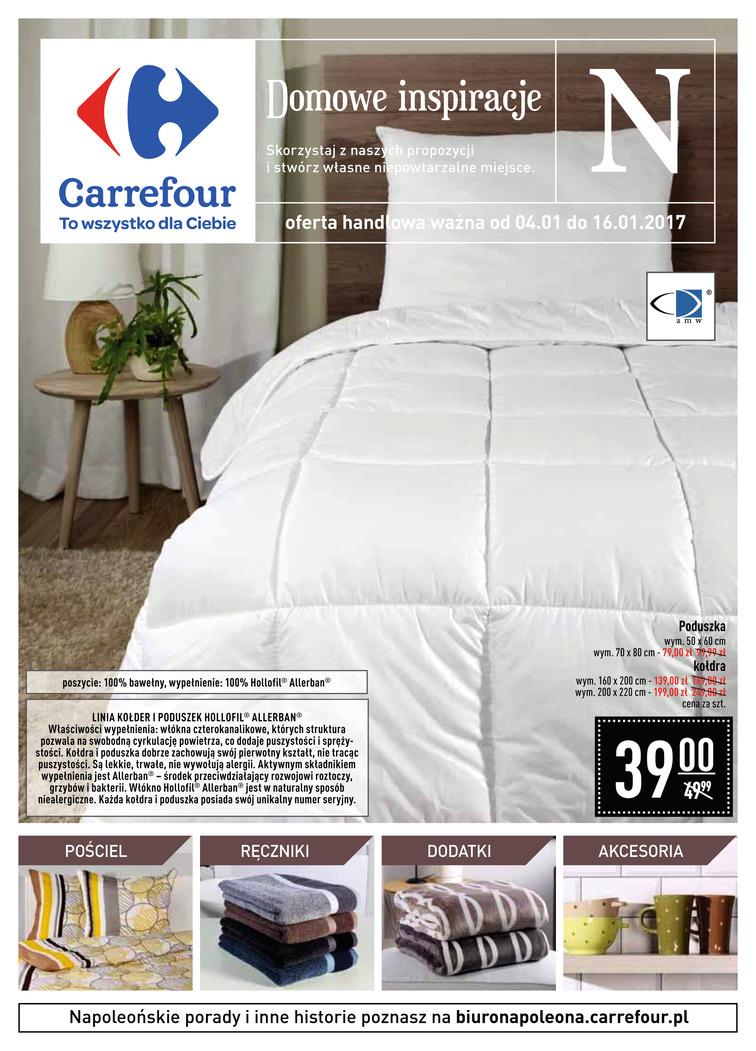 Gazetka sieci Carrefour, ważna od 2017-01-04 do 2017-01-16, strona 1