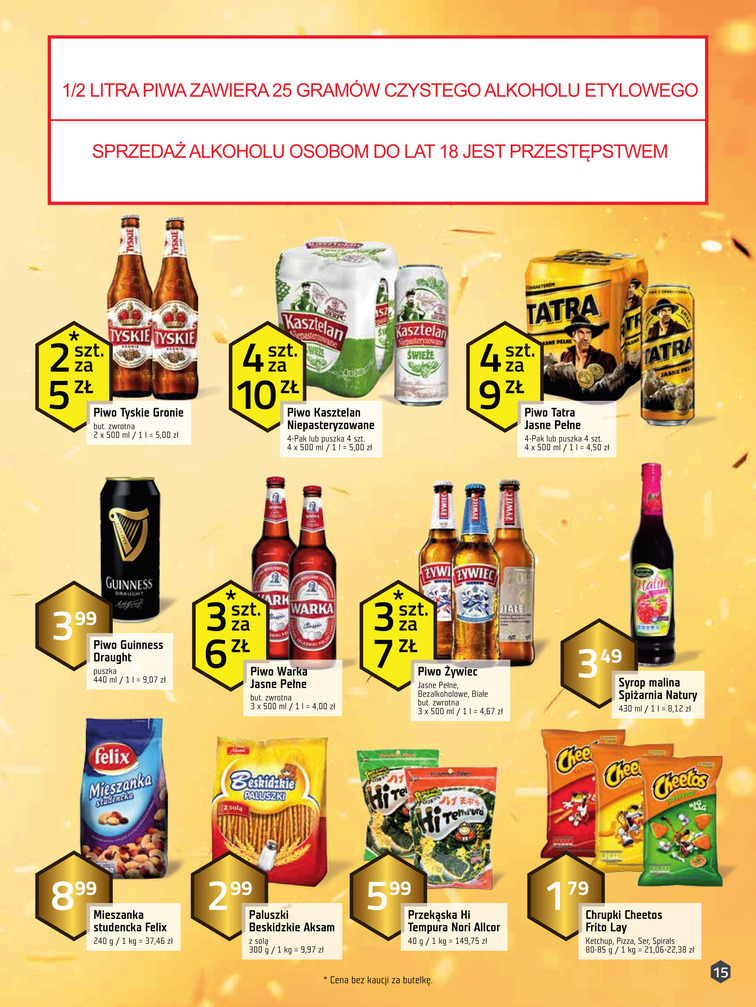 Gazetka sieci Freshmarket, ważna od 2017-01-11 do 2017-01-24, strona 15