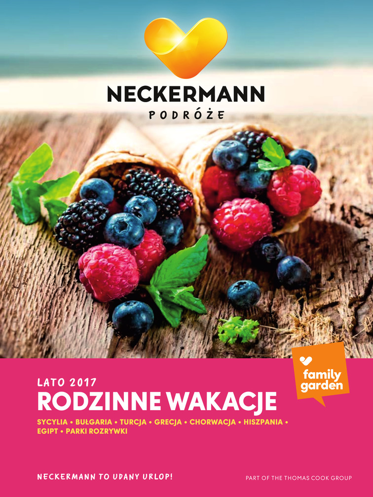 Gazetka sieci Neckermann, ważna od 2017-01-01 do 2017-08-31, strona 1