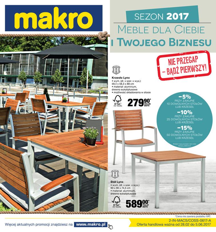 Gazetka sieci Makro Cash&Carry, ważna od 2017-02-28 do 2017-06-05, strona 1