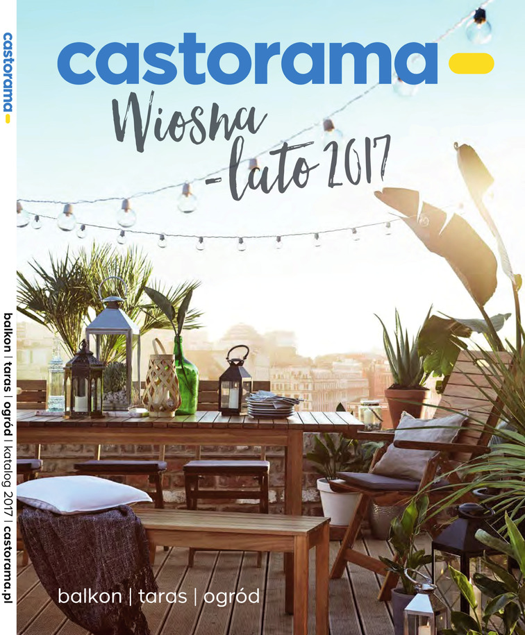 Gazetka sieci Castorama, ważna od 2017-04-04 do 2017-09-05, strona 1
