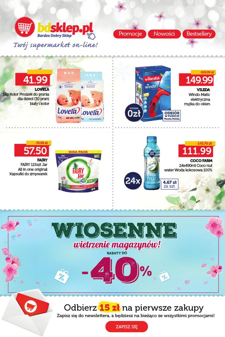 Gazetka sieci Bdsklep.pl, ważna od 2017-04-28 do 2017-05-20, strona 1