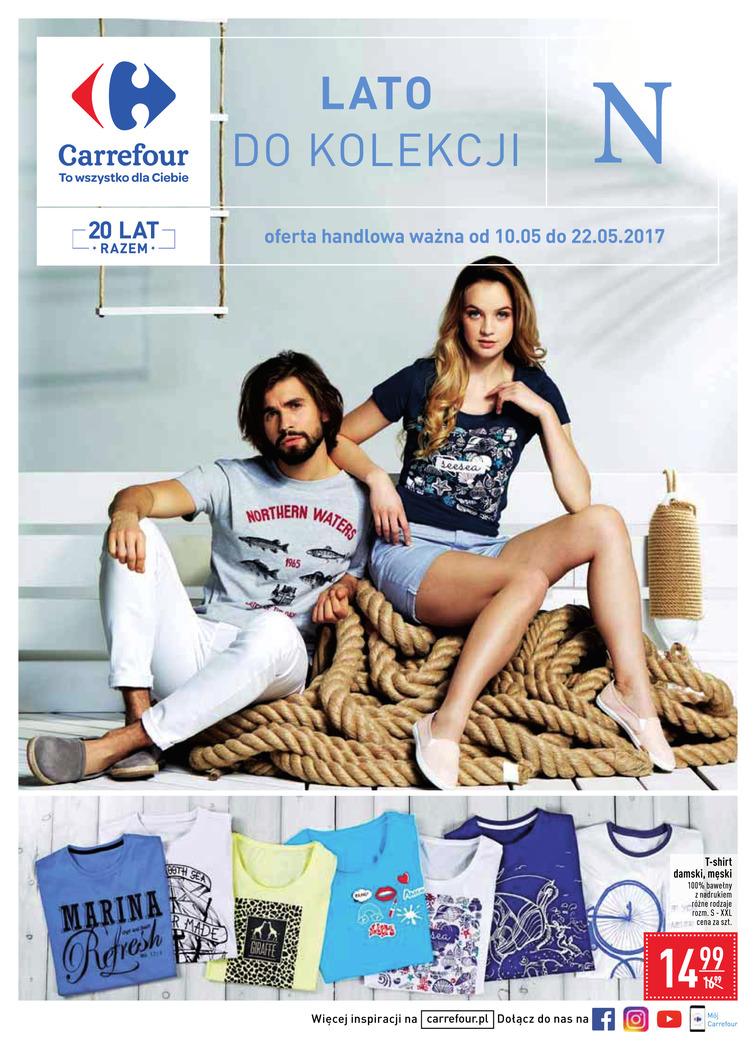 Gazetka sieci Carrefour, ważna od 2017-05-10 do 2017-05-22, strona 1