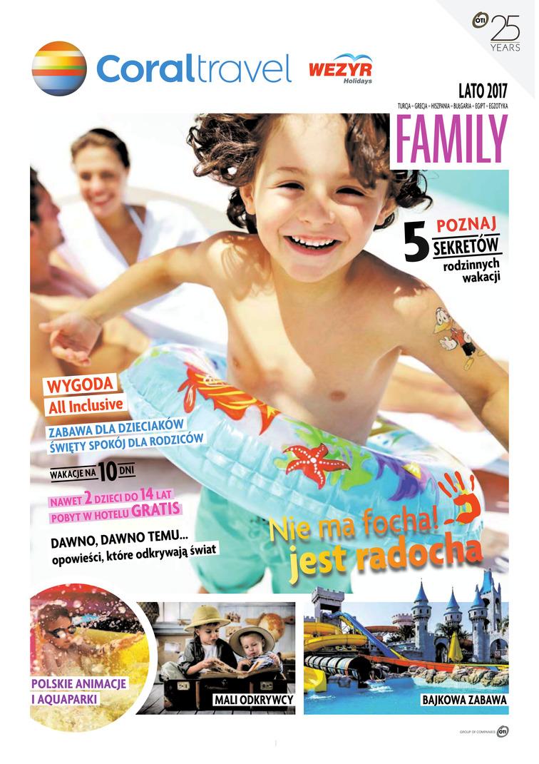 Gazetka sieci Wezyr Holidays, ważna od 2017-05-01 do 2017-10-01, strona 1