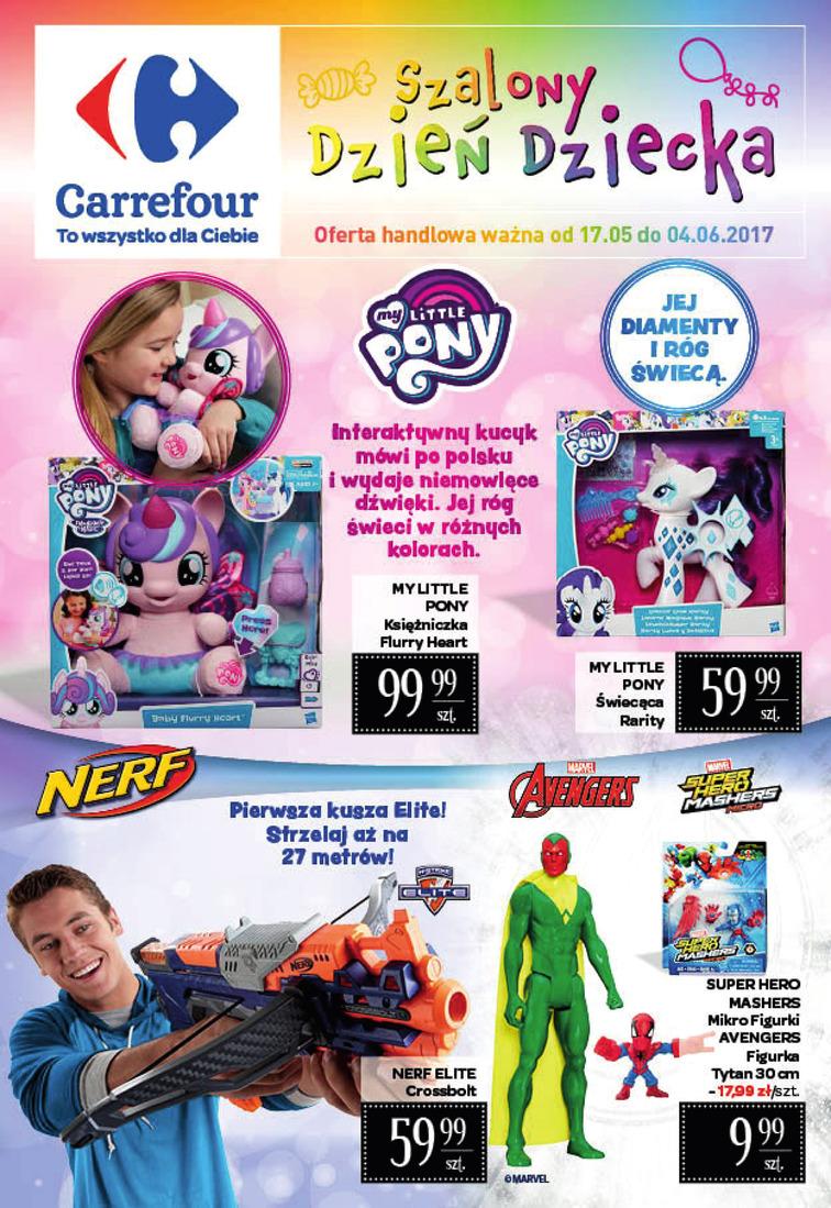 Gazetka sieci Carrefour, ważna od 2017-05-17 do 2017-06-04, strona 1