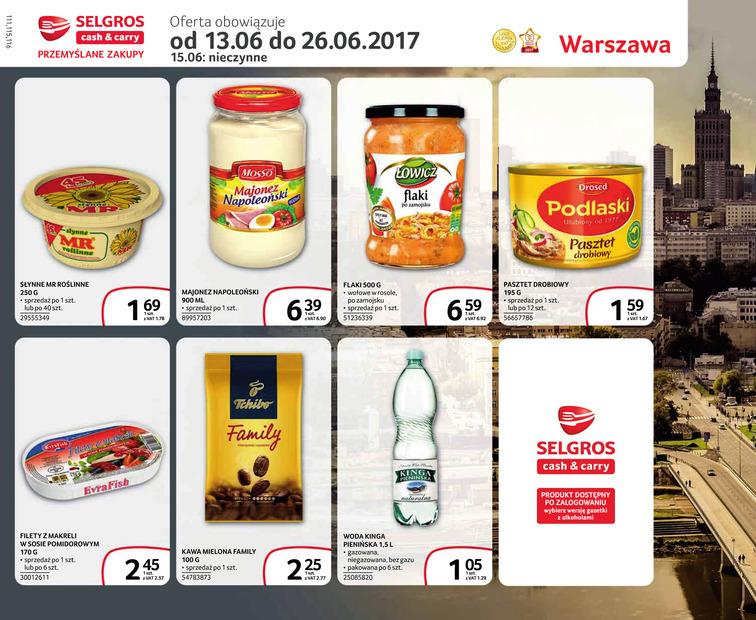 Gazetka sieci Selgros Cash&Carry, ważna od 2017-06-13 do 2017-06-26, strona 1