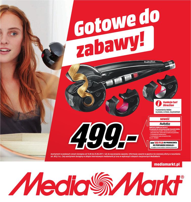 Gazetka sieci Media Markt, ważna od 2017-06-13 do 2017-06-25, strona 1