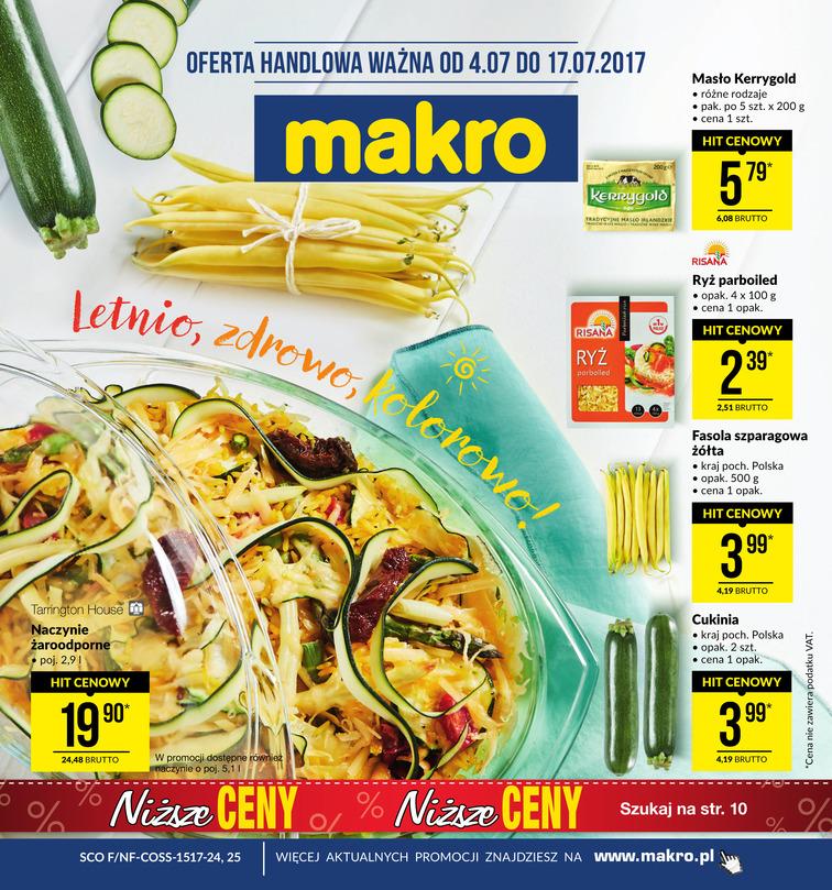 Gazetka sieci Makro Cash&Carry, ważna od 2017-07-04 do 2017-07-17, strona 1