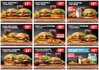 Gazetka promocyjna Burger King, ważna od 03.07.2017 do 30.09.2017.