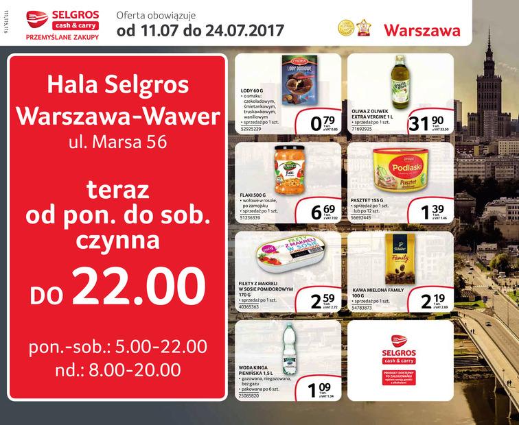 Gazetka sieci Selgros Cash&Carry, ważna od 2017-07-11 do 2017-07-24, strona 1