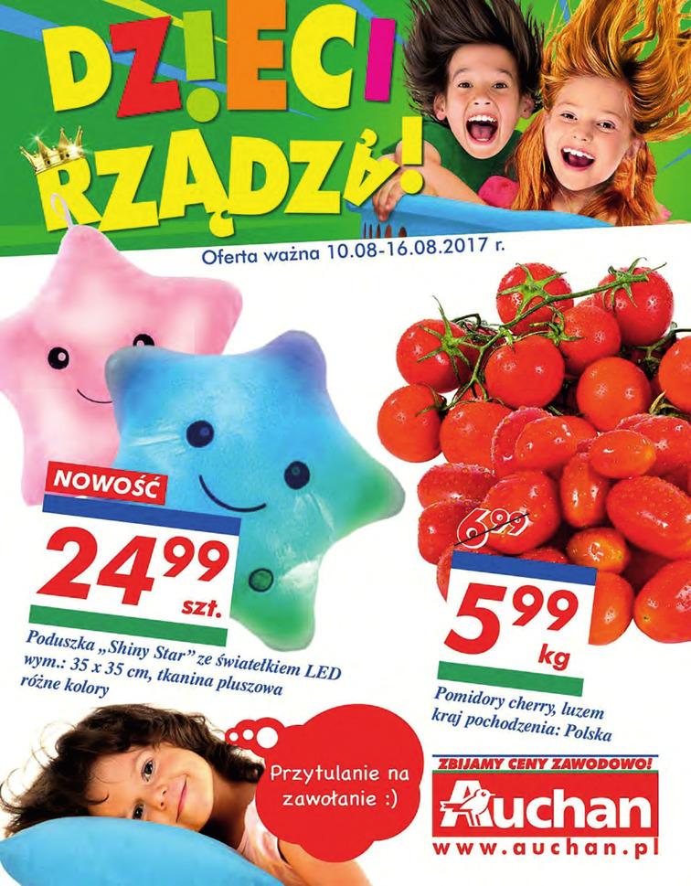 Gazetka sieci Auchan, ważna od 2017-08-10 do 2017-08-16, strona 1