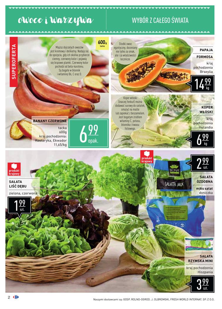 Gazetka sieci Carrefour, ważna od 2017-08-16 do 2017-09-18, strona 2