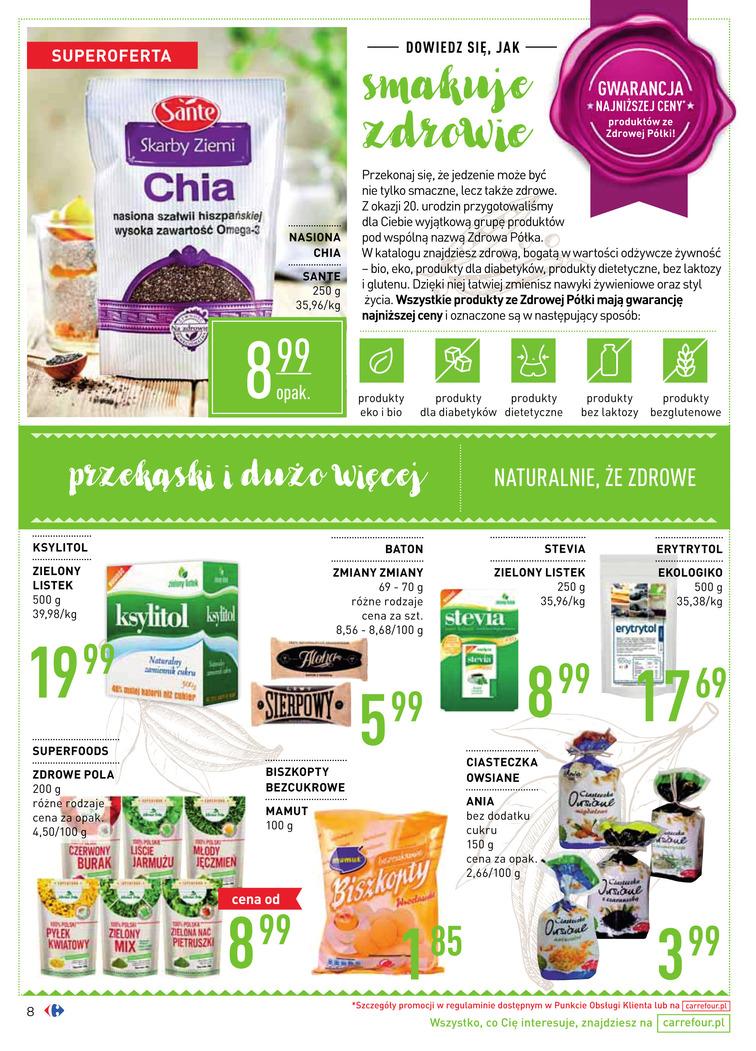 Gazetka sieci Carrefour, ważna od 2017-08-16 do 2017-09-18, strona 8