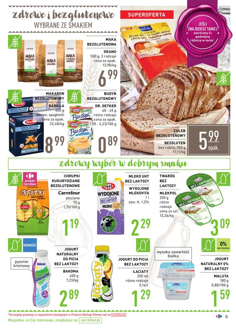 Gazetka sieci Carrefour, ważna od 2017-08-16 do 2017-09-18, strona 9