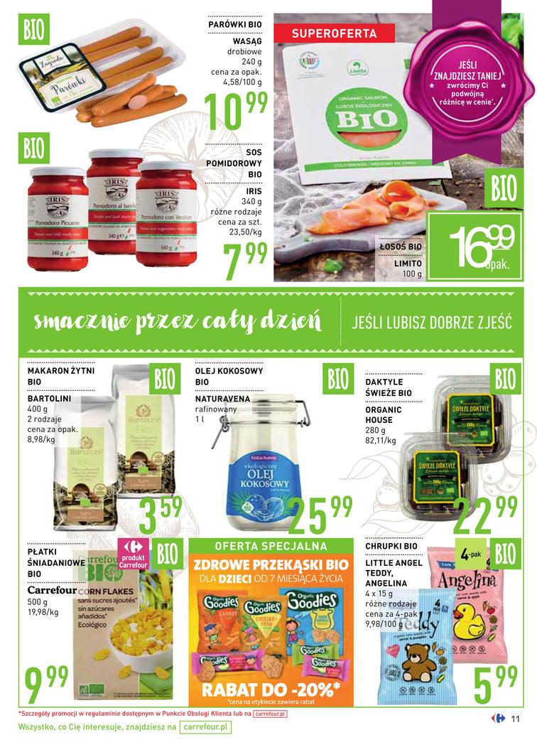 Gazetka sieci Carrefour, ważna od 2017-08-16 do 2017-09-18, strona 11