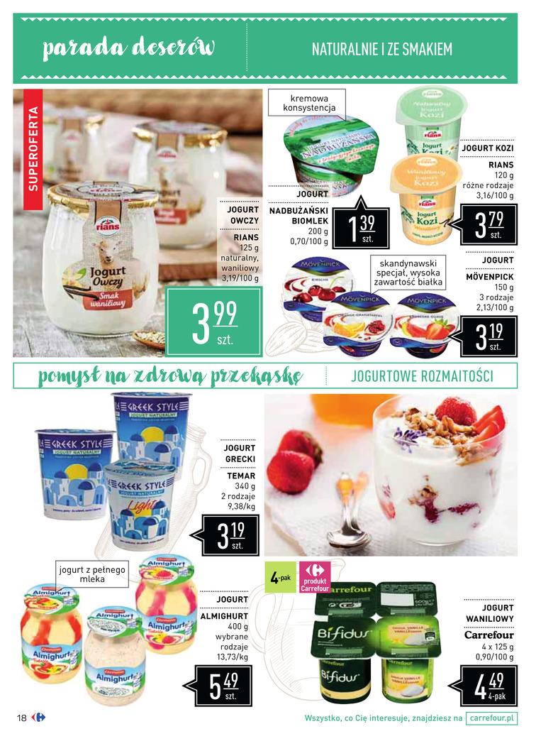 Gazetka sieci Carrefour, ważna od 2017-08-16 do 2017-09-18, strona 18