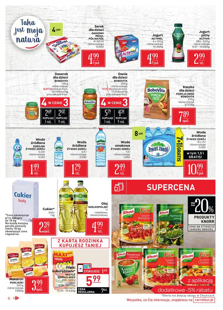 Gazetka sieci Carrefour, ważna od 2017-09-06 do 2017-09-18, strona 6