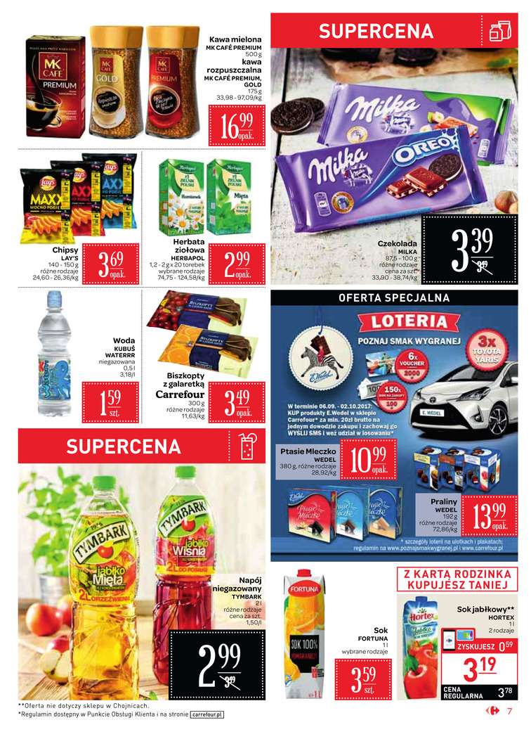 Gazetka sieci Carrefour, ważna od 2017-09-06 do 2017-09-18, strona 7