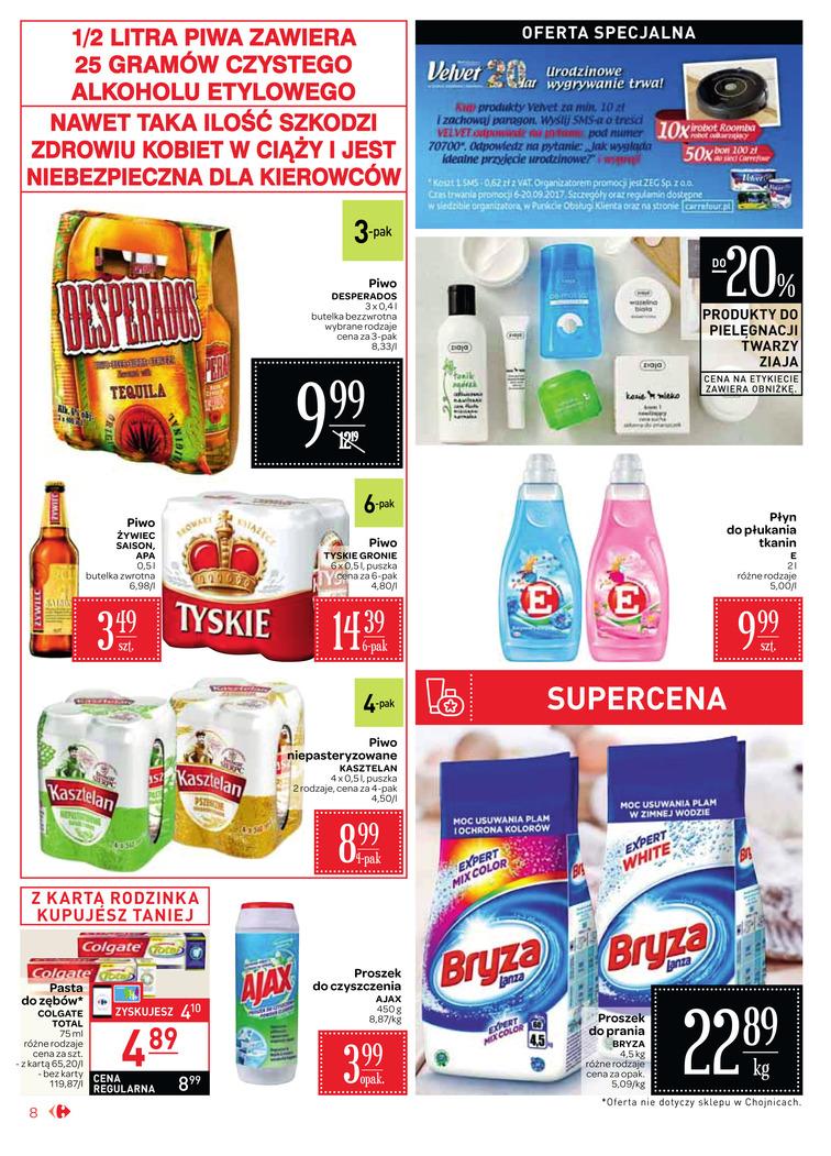 Gazetka sieci Carrefour, ważna od 2017-09-06 do 2017-09-18, strona 8