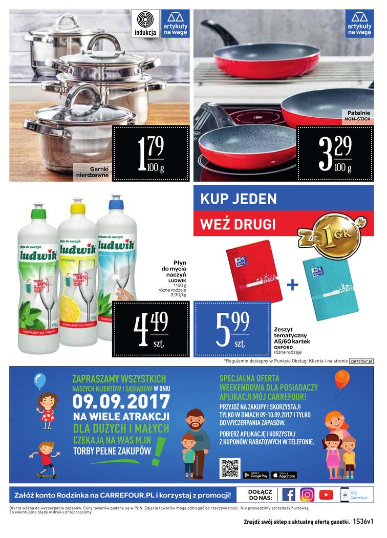 Gazetka sieci Carrefour, ważna od 2017-09-06 do 2017-09-18, strona 12