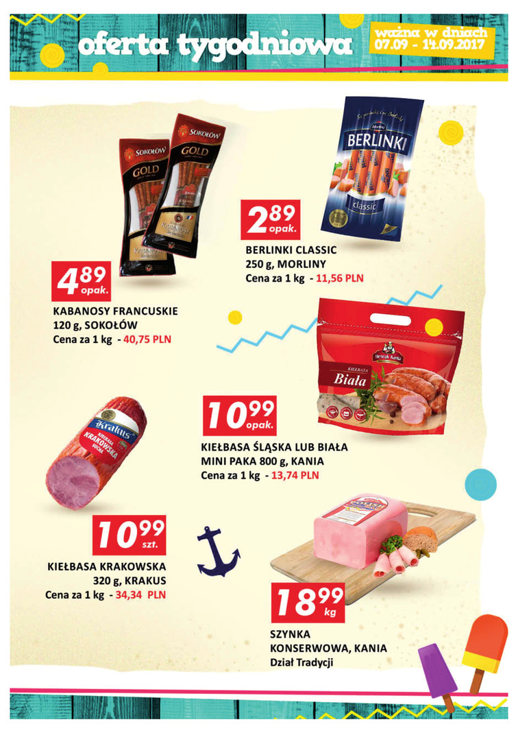 Gazetka sieci Auchan, ważna od 2017-09-07 do 2017-09-14, strona 7