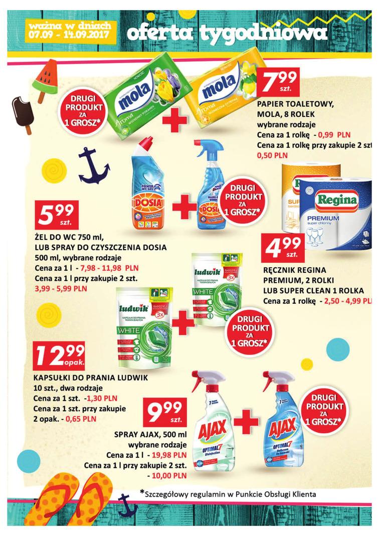 Gazetka sieci Auchan, ważna od 2017-09-07 do 2017-09-14, strona 14