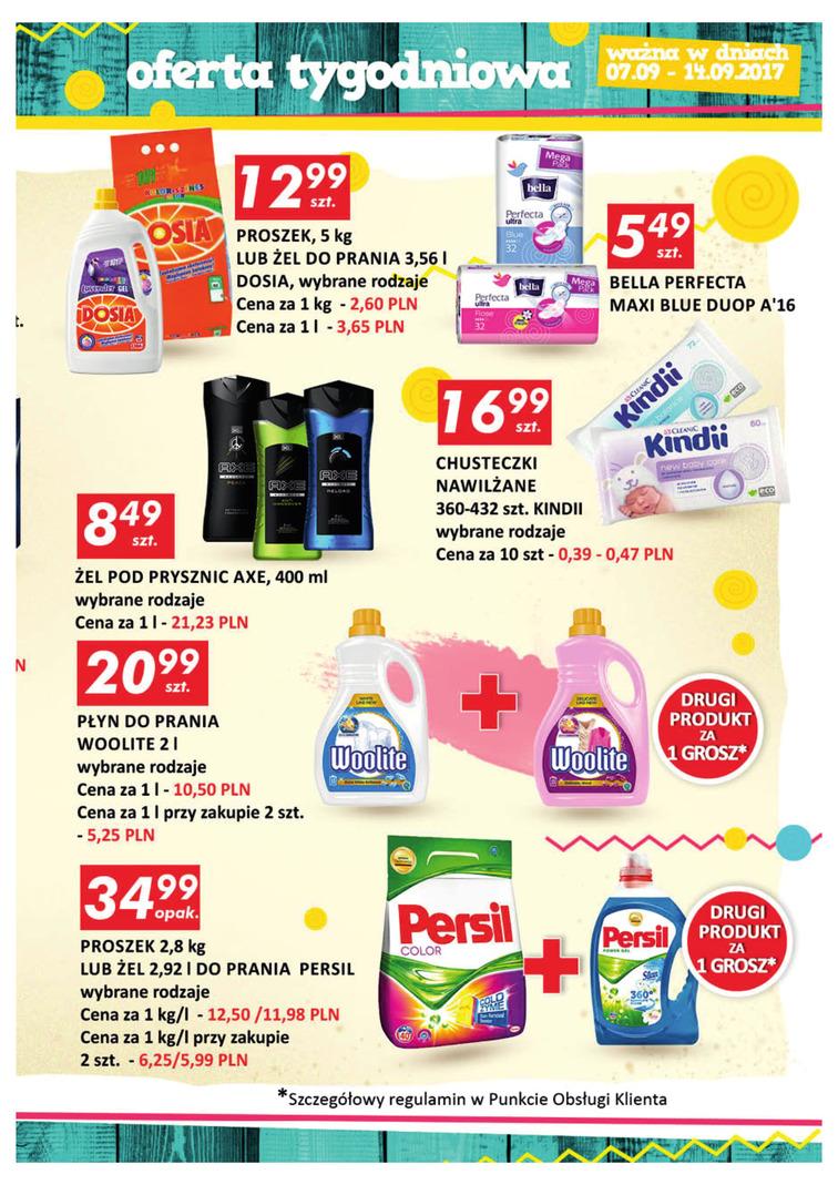 Gazetka sieci Auchan, ważna od 2017-09-07 do 2017-09-14, strona 15