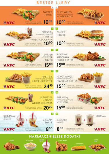 Gazetka promocyjna KFC, ważna od 06.09.2017 do 09.10.2017.