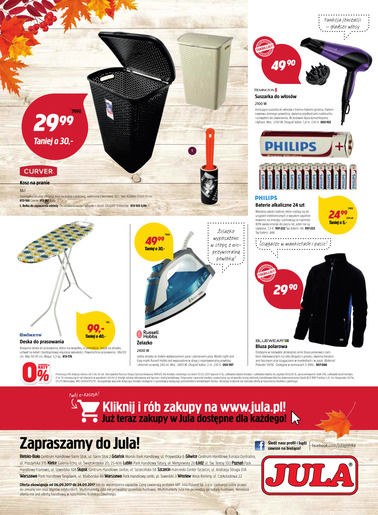 Gazetka promocyjna Jula, ważna od 06.09.2017 do 24.09.2017.