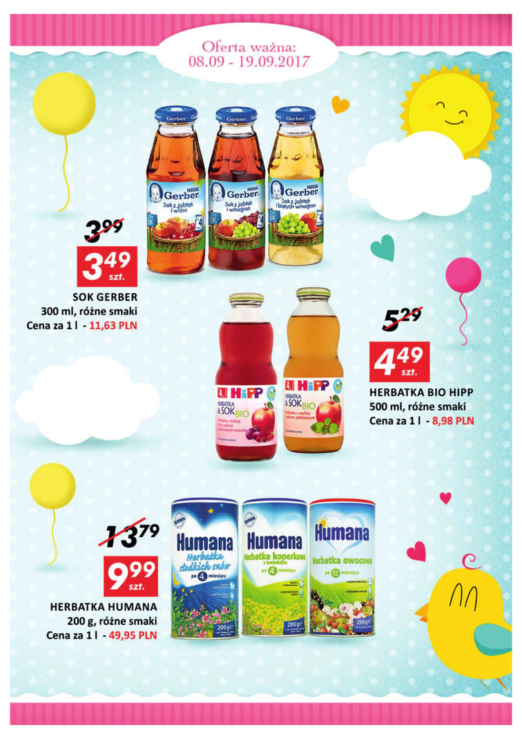 Gazetka sieci Auchan, ważna od 2017-09-08 do 2017-09-19, strona 3