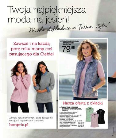 Gazetka promocyjna Bonprix, ważna od 01.09.2017 do 04.03.2018.