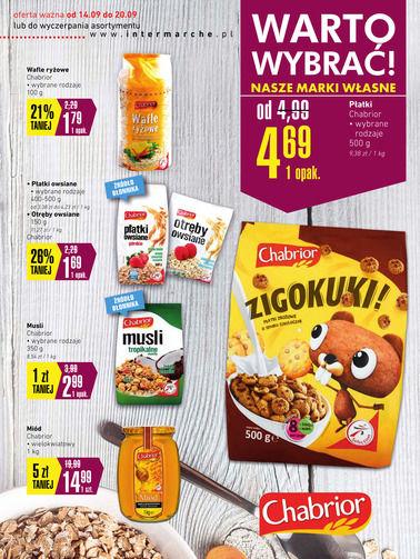 Gazetka promocyjna Intermarché, ważna od 14.09.2017 do 20.09.2017.