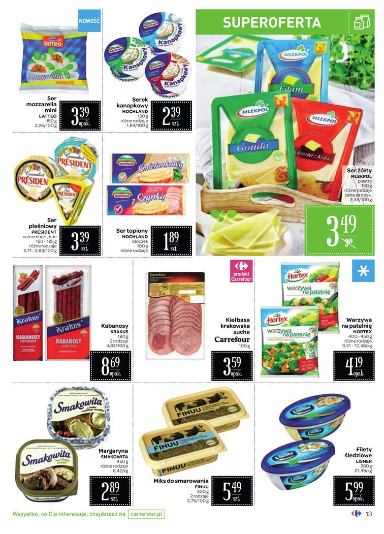 Gazetka sieci Carrefour, ważna od 2017-09-06 do 2017-09-18, strona 14