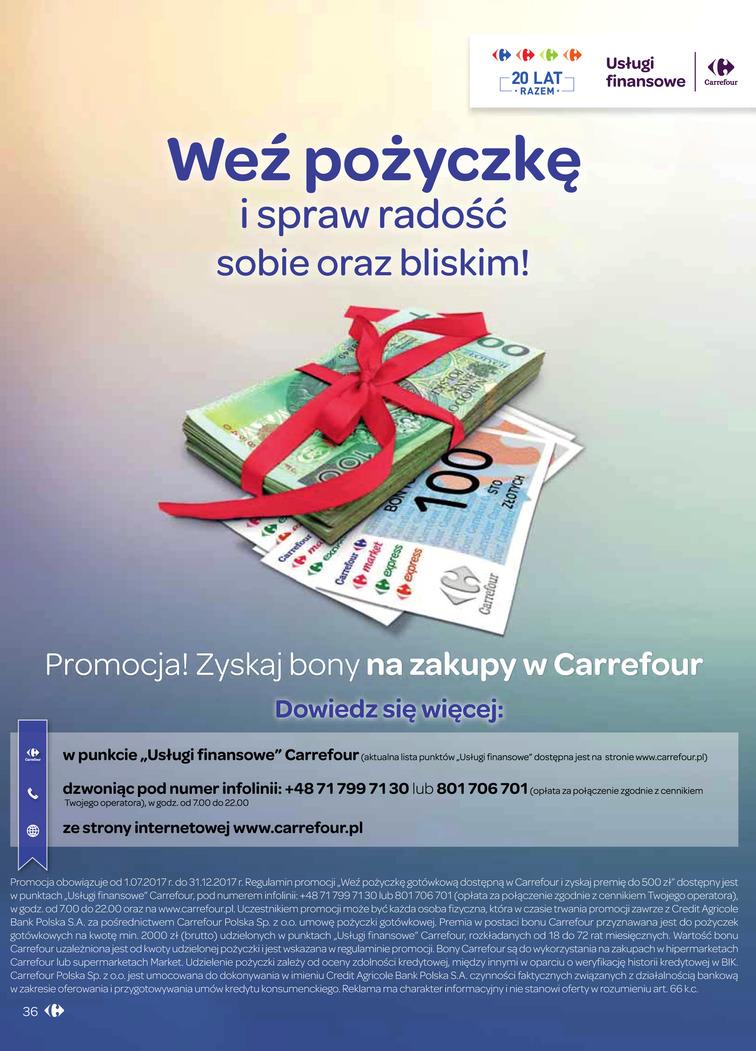 Gazetka sieci Carrefour, ważna od 2017-09-06 do 2017-09-18, strona 37
