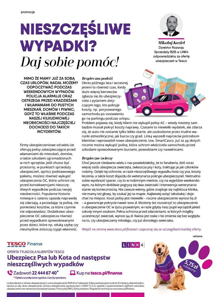 Gazetka sieci Tesco, ważna od 2017-08-28 do 2017-11-26, strona 110