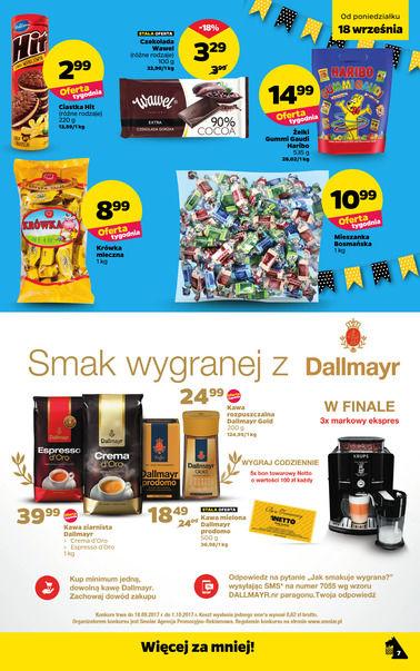 Gazetka promocyjna Netto, ważna od 18.09.2017 do 24.09.2017.