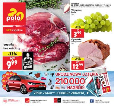 Gazetka promocyjna POLOmarket, ważna od 20.09.2017 do 26.09.2017.