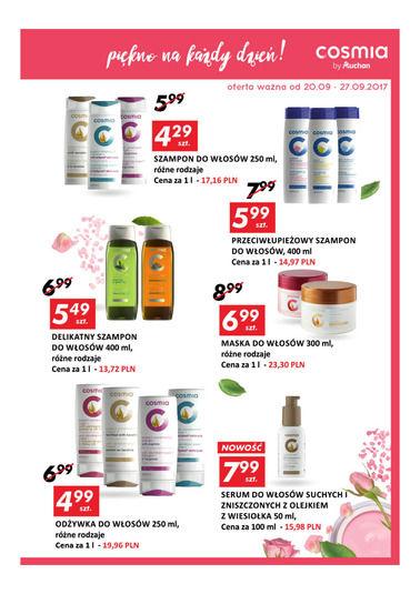 Gazetka promocyjna Auchan, ważna od 20.09.2017 do 27.09.2017.