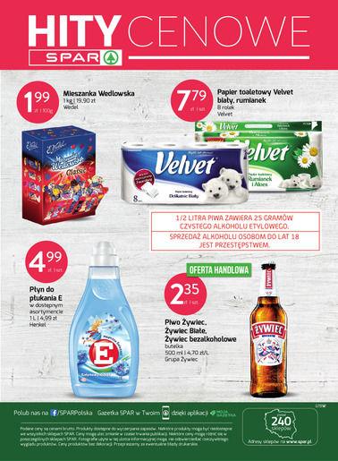 Gazetka promocyjna Spar, ważna od 21.08.2017 do 01.10.2017.