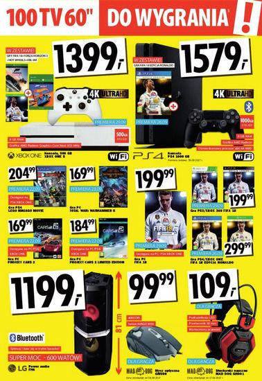 Gazetka promocyjna Media Markt, ważna od 21.09.2017 do 04.10.2017.