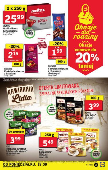Gazetka promocyjna Lidl, ważna od 18.09.2017 do 24.09.2017.