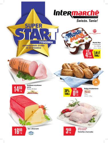 Gazetka promocyjna Intermarché, ważna od 25.09.2017 do 27.09.2017.