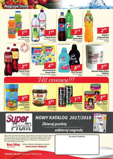 Gazetka promocyjna Nasz Sklep, ważna od 21.09.2017 do 01.10.2017.