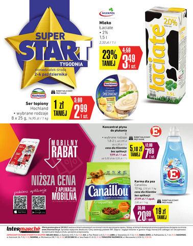 Gazetka promocyjna Intermarché, ważna od 28.09.2017 do 04.10.2017.