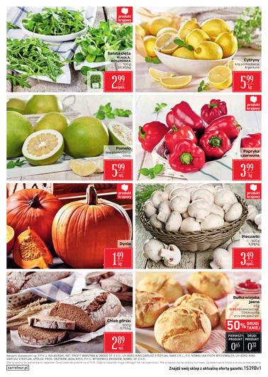 Gazetka promocyjna Carrefour, ważna od 27.09.2017 do 02.10.2017.