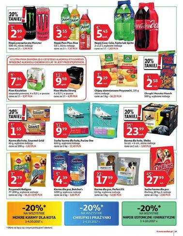 Gazetka promocyjna Auchan, ważna od 28.09.2017 do 04.10.2017.