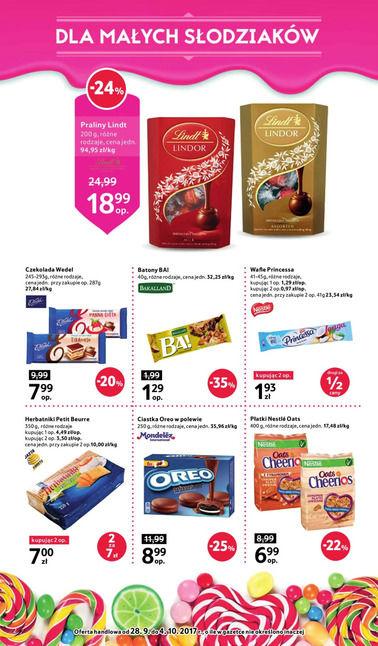 Gazetka promocyjna Tesco, ważna od 28.09.2017 do 04.10.2017.