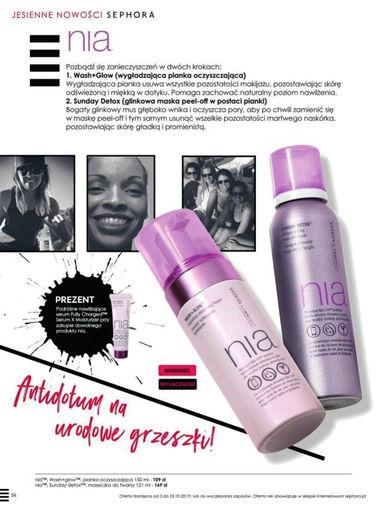Gazetka promocyjna Sephora, ważna od 03.10.2017 do 23.10.2017.
