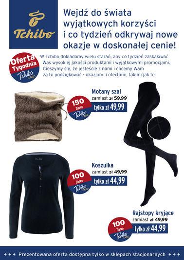 Gazetka promocyjna Tchibo, ważna od 09.10.2017 do 31.10.2017.